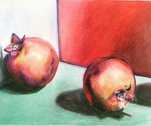Pomegranates Print