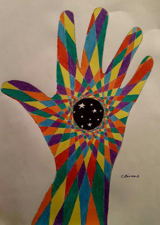 Hand art - Handpencil