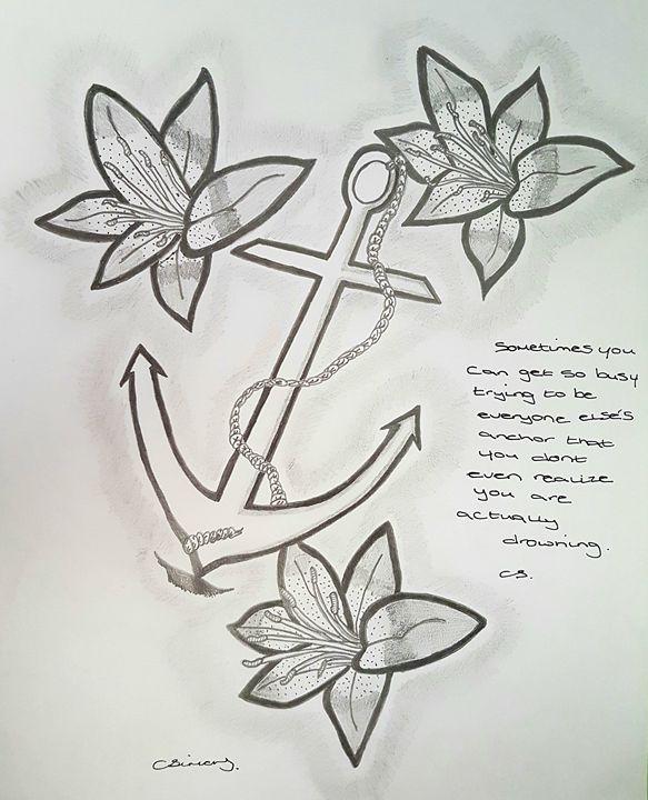 Anchor sketch - Handpencil