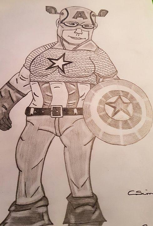 Captain america - Handpencil