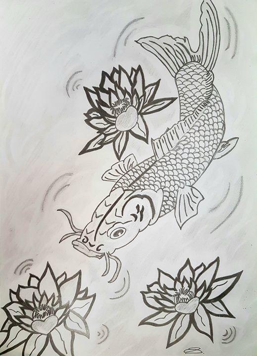 Koi sketch - Handpencil