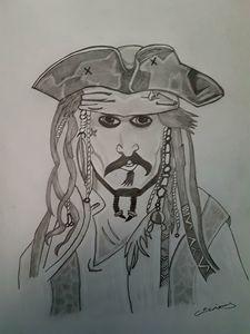 Captain jack sparrow - Handpencil