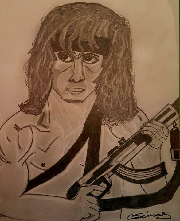 Rambo sketch - Handpencil