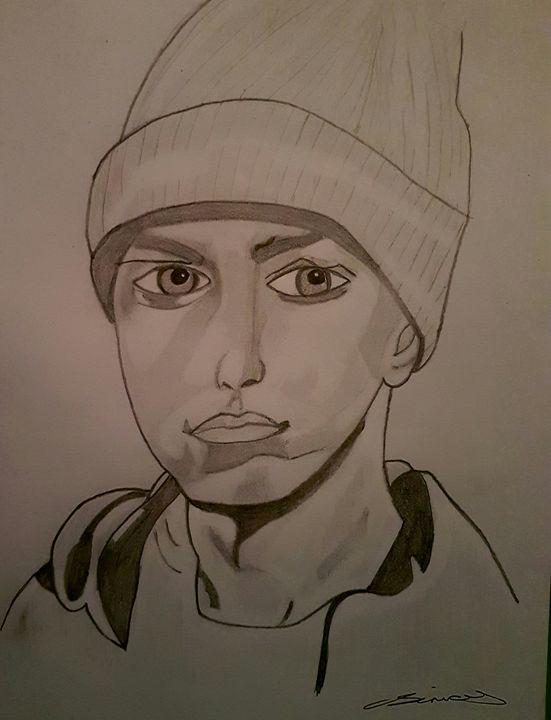 Eminem sketch - Handpencil