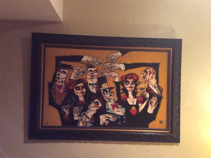 """""""Dead Man's Party"""" - Todd White & Robert Cook pieces"""