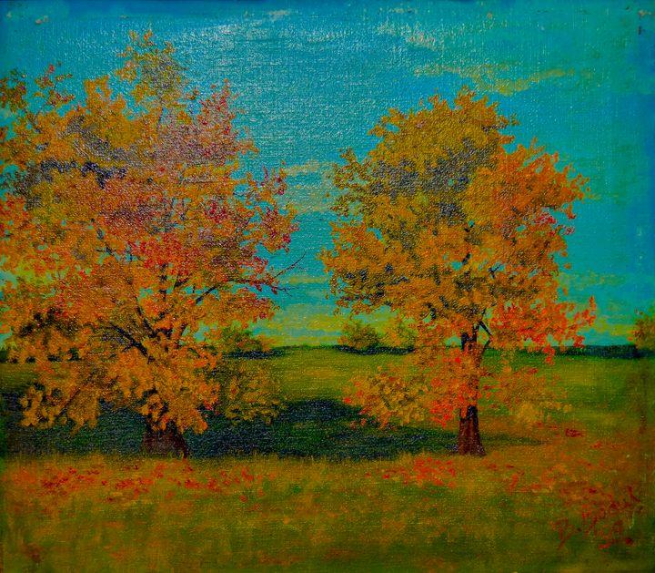 Autumn - Biljana Reynolds Art