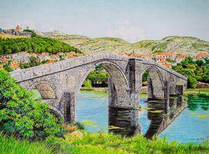 The old Arslanagica Bridge, Trebinje