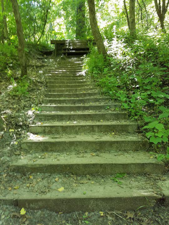Hidden Stairway - Bryan's Stuff