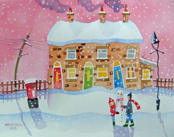 Frosty the Snowman - Martin Whittam Artist