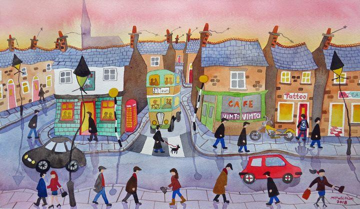 The High Street - Martin Whittam Artist