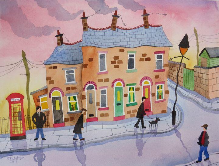 Cardigan Street - Martin Whittam Artist