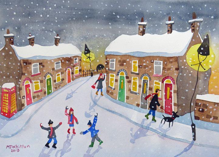 Snowballs - Martin Whittam Artist