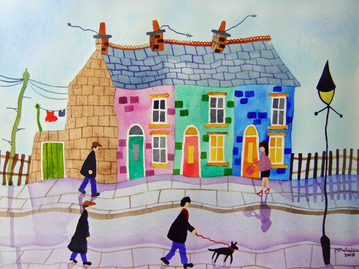 Summer Terrace - Martin Whittam Artist