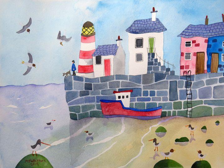 Low Tide - Martin Whittam Artist