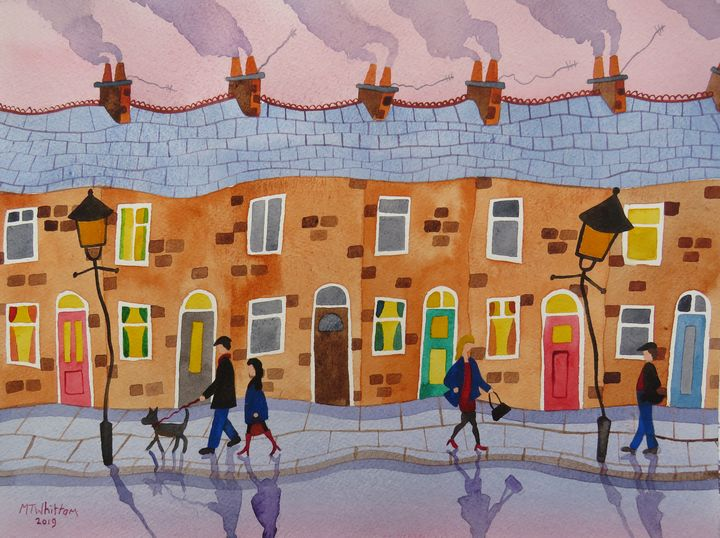 Out and About - Martin Whittam Artist