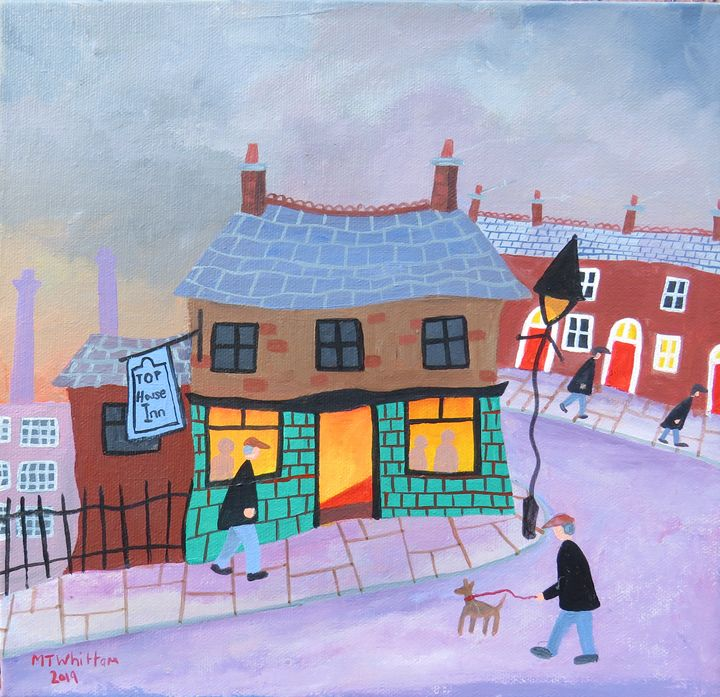 The Top House - Martin Whittam Artist