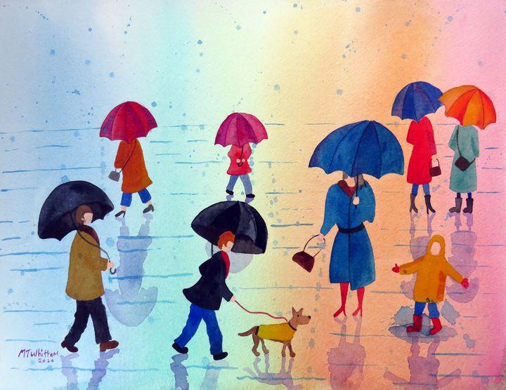 Rainy Days - Martin Whittam Artist