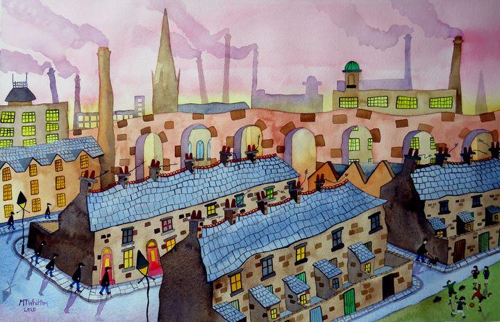Northern Town - Martin Whittam Artist