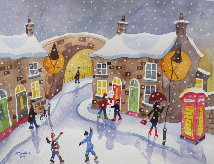 Its Snowing! - Martin Whittam Artist