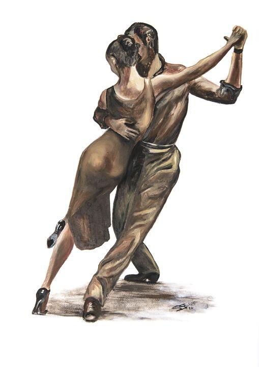 Passionate tango - Suzanne Stokes