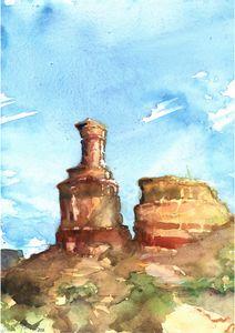 Lighthouse Rock, Texas