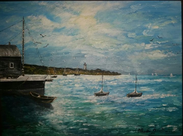 Bord de Mer - Claude's Paintings