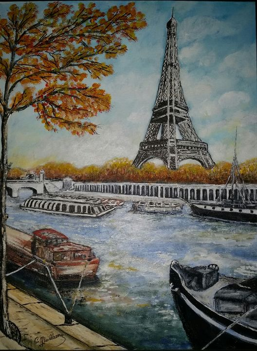 La tour eiffel - Claude's Paintings