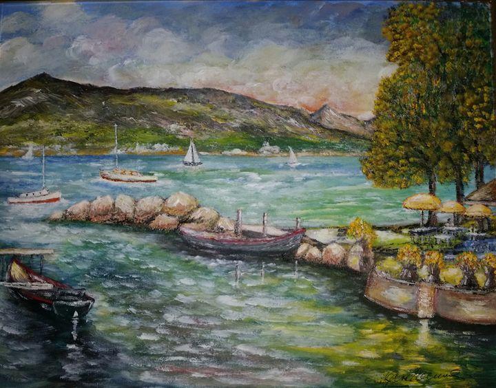 port de peche - Claude's Paintings