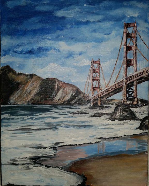 Sam Francisco Bridge - Claude's Paintings