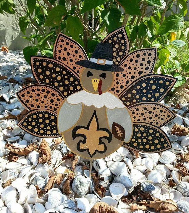 Thanksgiving Team Turkeys - Flower Power Showers & Whimsy Deco