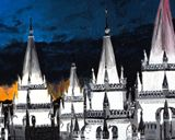 Salt Lake LDS Temple Painting Print
