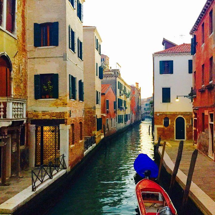 Walking the streets of Venice - Rhonda Hall