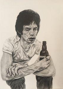 Tired Mic Jagger