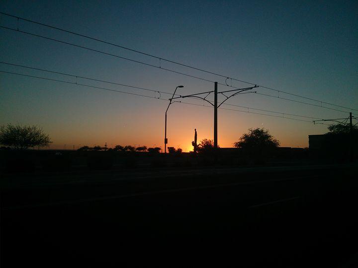 Phoenix sunset - Railmani's gallery