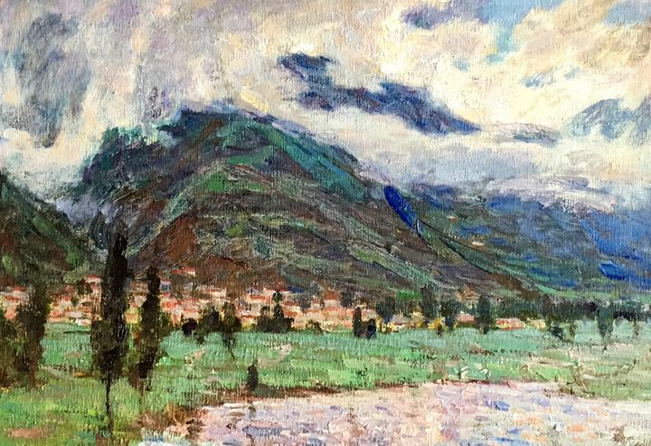 Mountain in The Clouds - Wumu Gallery