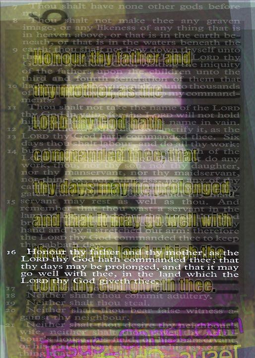 The Fifth Commandment - Colin Bentham