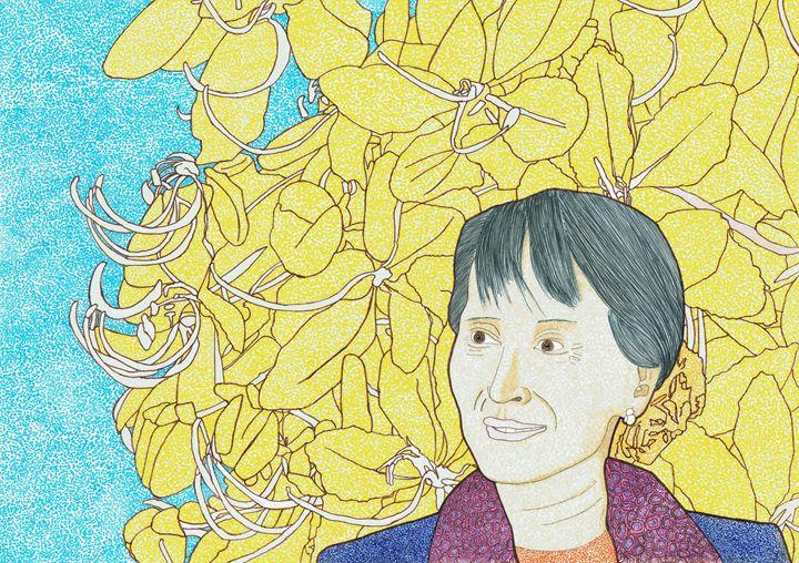 Aung San Su Kyi - Colin Bentham