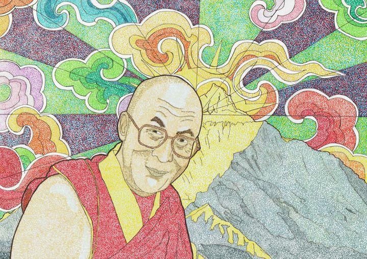 Dalai Lama - Colin Bentham