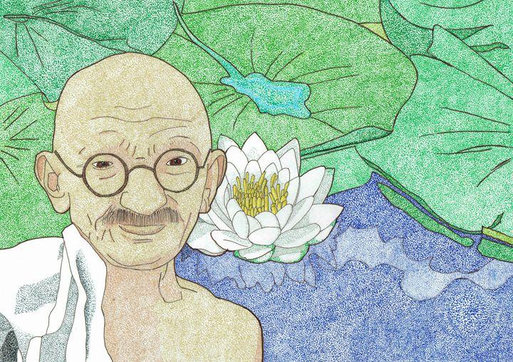 Mahatma Gandhi - Colin Bentham