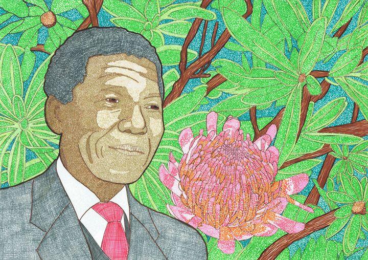 Nelson Mandela - Colin Bentham