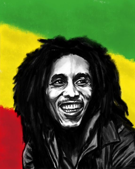 Bob Marley - Inkling Art Creations