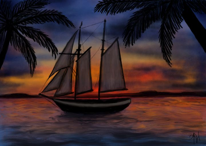 Floridian Nights - Inkling Art Creations