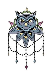 Jeweled Owl