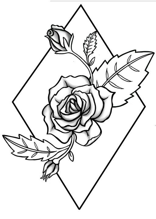 A Roses Thorn - Inkling Art Creations