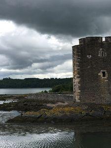 Dark Sky at Blackness Castle