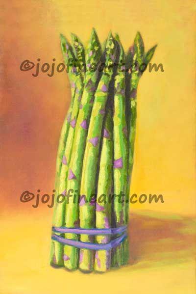 Asparagus - jojofineart