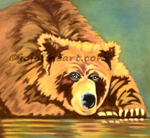 """Teddy Bear"" - jojofineart"