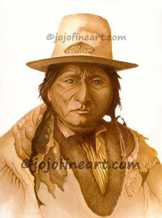 Sitting Bull - jojofineart