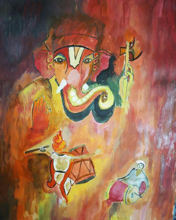 Ganesh Chaturthi Celebration - My Acrylic Side
