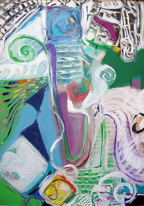 Peacock Island - David Howell Art